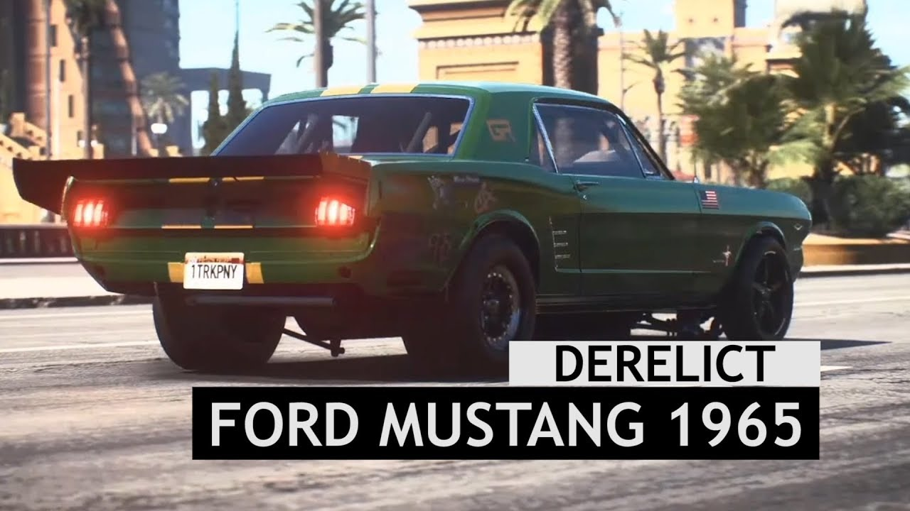 Need for speed payback derelict ford mustang 1965 location all parts