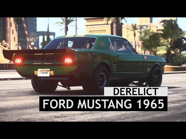 Need For Speed Payback Derelict Ford Mustang 1965 Ardusat Org