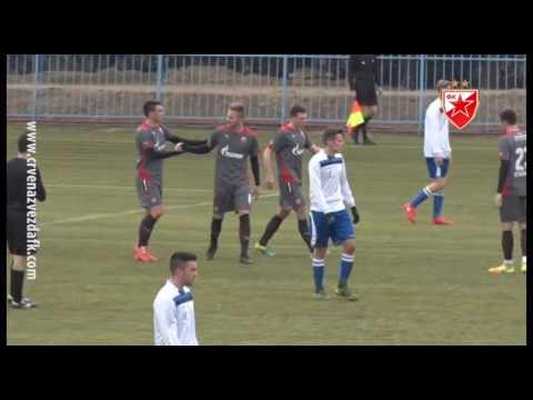 Jadran (Dekani) - Crvena zvezda 0:10, highlights