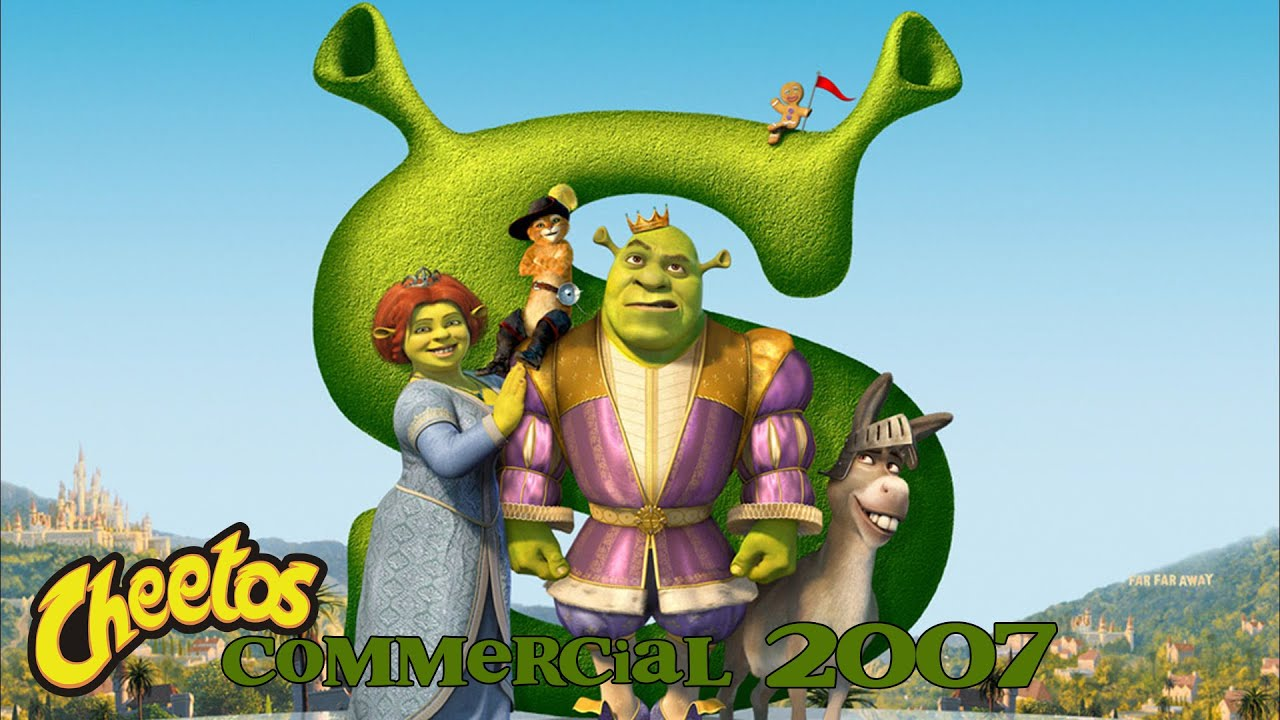 Shrek: Baked Cheetos Commercial (2007)
