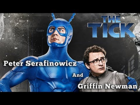 Peter Serafinowicz And Griffin Newman Discuss The Tick Pt. 2 On Amazon!