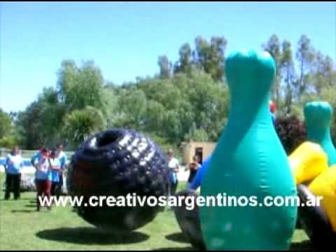 Alquiler de Mega Bowling Inflable en alquiler el Argentina