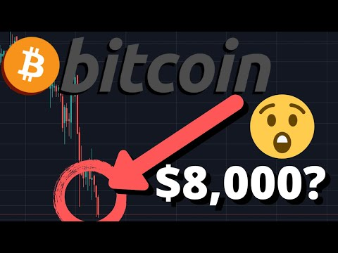 OMG BITCOIN PRICE BREAKING SUPPORT!!! | BTC PRICE TO $8,000 NEXT?