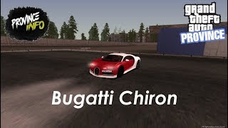 Bugatti Chiron MTA Province