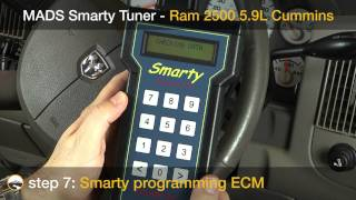 Smarty Tuner In A Common Rail Cummins