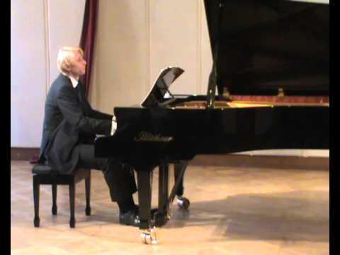 Gideon Klein Piano Sonata (1943): Ivo Kahanek live at Levoca