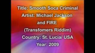 Michael Jackson And FIRE- Smooth Soca Criminal