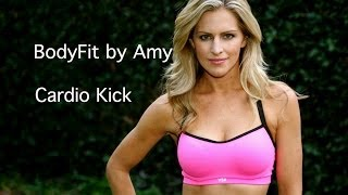 30 Minute Fat Blasting Cardio Kick Workout----No equipment needed!