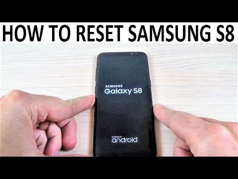 How to Reset Samsung Galaxy S8, S8+   Factory Settings