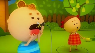 Аркадий Паровозов - Почему опасно пить компот с осами - мультфильм детям