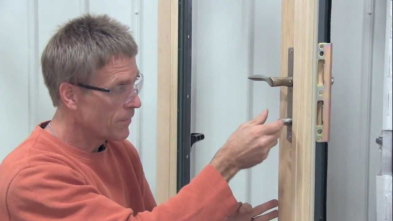 Adjust Thumb Turn Lock On French Patio Door S Inactive