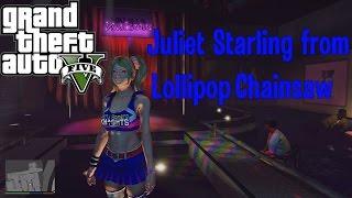 Juliet Starling from Lollipop Chainsaw mod GTA 5 (установка и обзор)