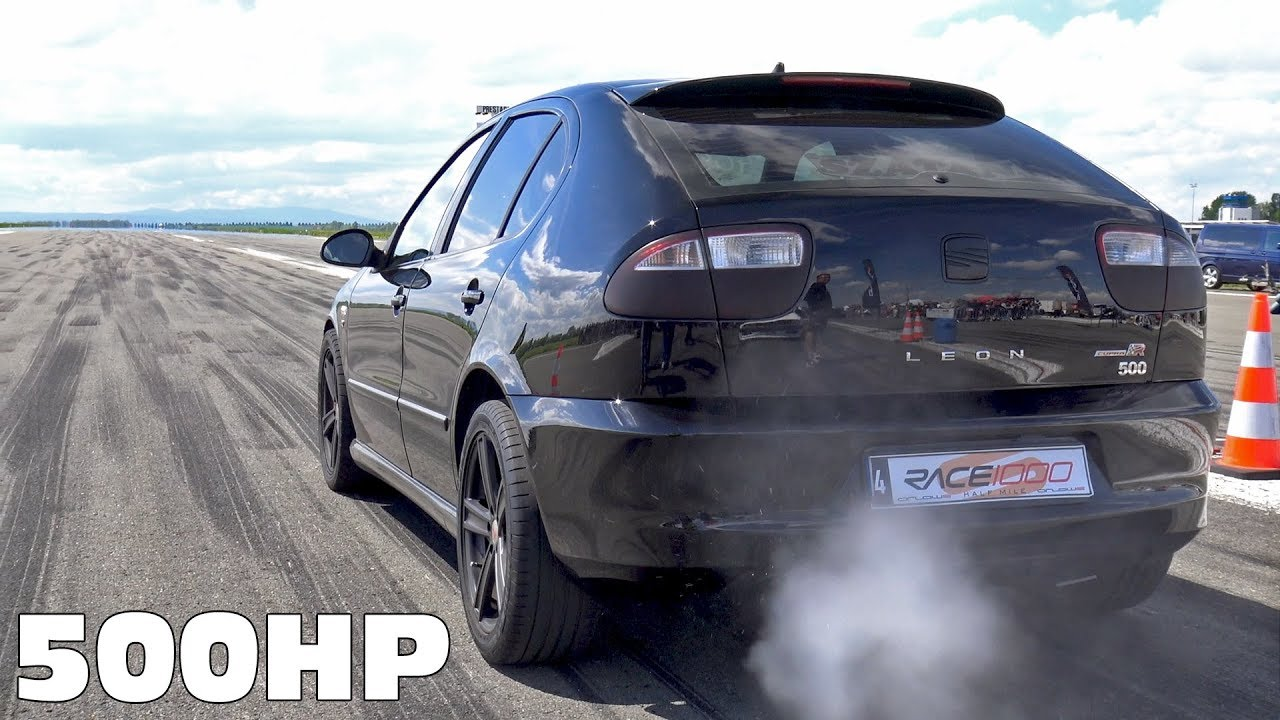 Seat Leon Cupra R Turbo 500hp Tuning Anti Lag Exhaust Sounds