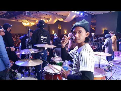 Ya Jamalu Sabyan Version Concert Korea Selatan (drumcam)