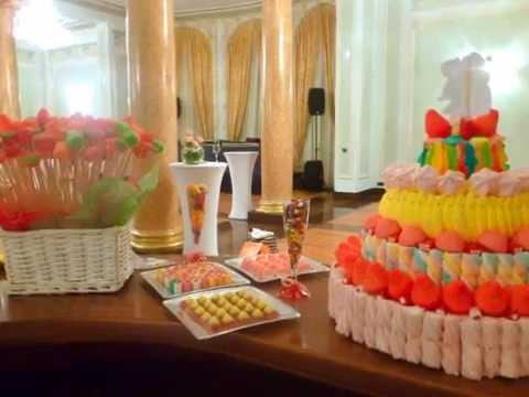 Buffet de chuches moremi eventos bodas en donostia y for Ideas para mesas de chuches