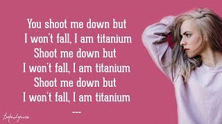 Madilyn Bailey - Titanium (Lyrics)