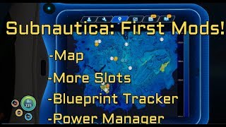Checking out the first Subnautica mods available on Nexus: -Map mod...