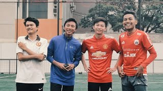 Ultimate Football Challenge ft Kevin Anggara