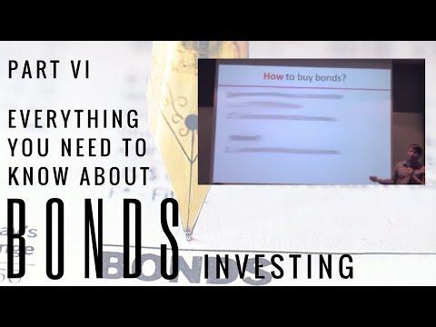 Investing in Bonds 4 - How To Buy Bonds