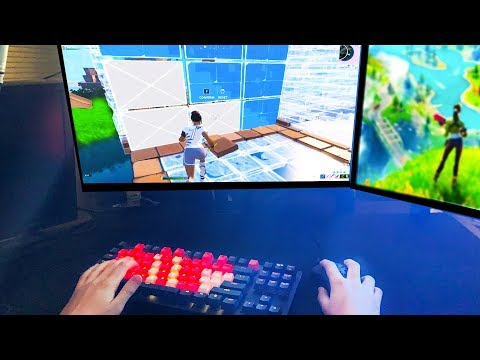 Fortnite From My POV | Keyboard/Mouse Cam