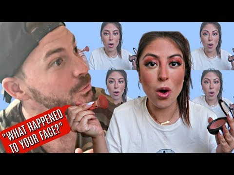 I Did My MAKEUP HORRIBLY to See How MY HUSBAND Would REACT PRANK *HILARIOUS*