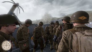 MOST EPIC SCREEN ADAPTATION OF THE D-DAY IN GAMES ! Call of Duty 2