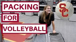 PACKING WITH USC VOLLEYBALL LIBERO VICTORIA GARRICK