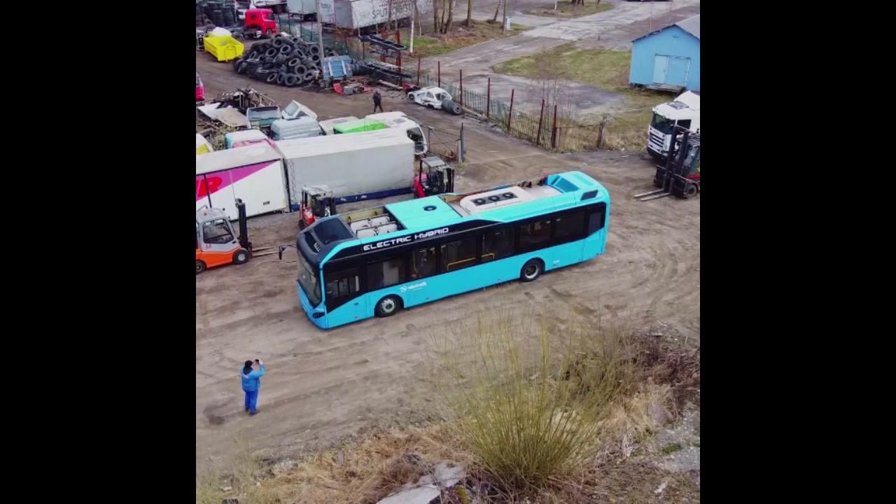 Truck Parts Blue Bus
