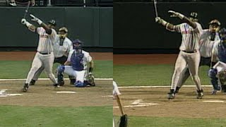 BOS@KC: Vaughn hits his 22nd, 23rd homers of 1995