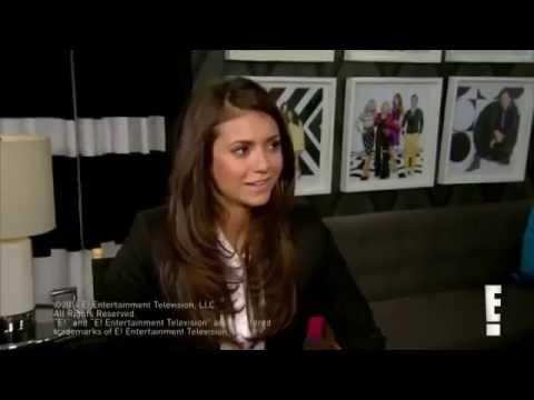 Nina Dobrev Interview E! Online 2014   Nina opens up about Ian