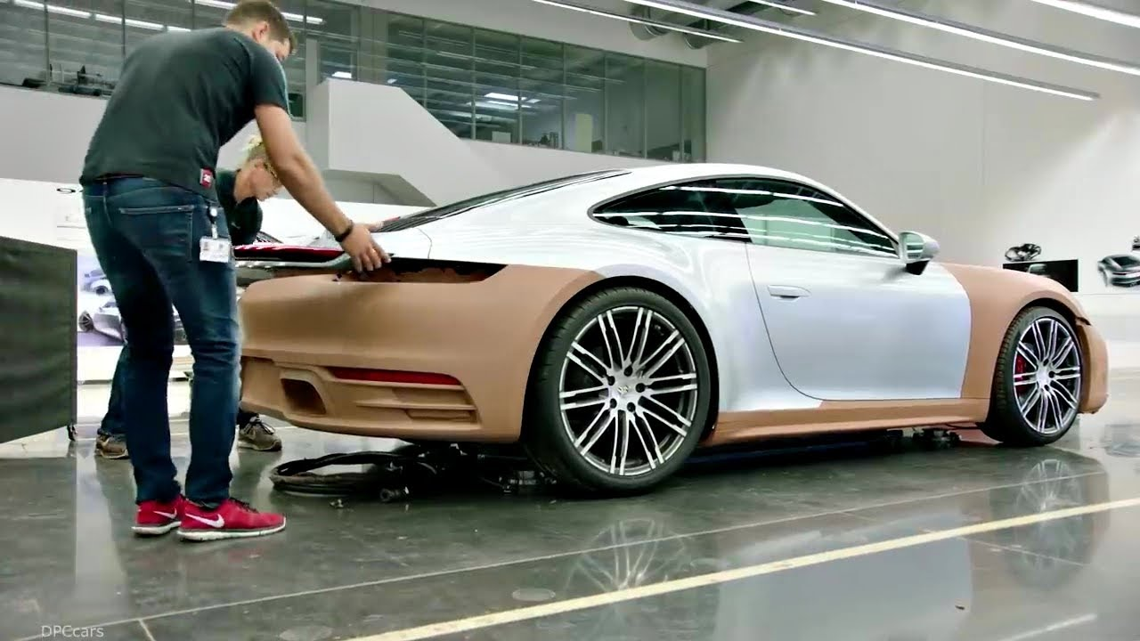 Porsche 911 Turbo S (Production Documentary in Germany) From Sketch To Iconic Sport Car! porsche 992