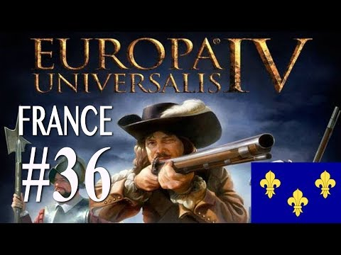 Europa Universalis 4 - France WC attempt campaign #36