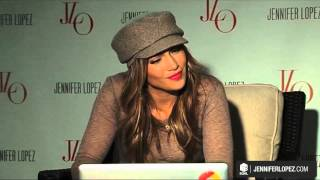 Jennifer Lopez's Dance Again World Tour Video Conference