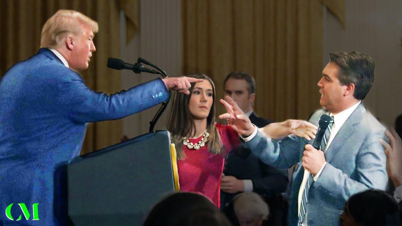 Donald Trump VS Jim Acosta (CNN) & NBC Crony - ALPHA ...