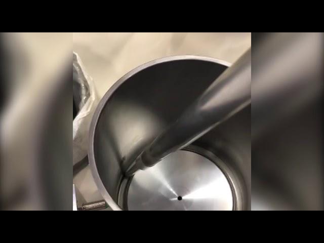 Dosador para aplicação de poliuretano em filtros para caminhões