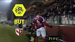 But Simon FALETTE (11') / FC Metz - FC Lorient (3-3) -  / 2016-17