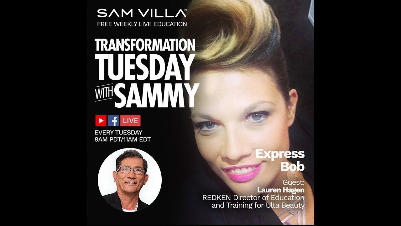 Transformation Tuesday with Sammy  Guest: Lauren Hagen