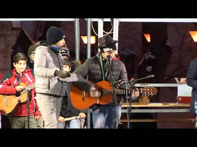 Gambatesa maitunat 1-1-2015: canzone di Marco Scocca