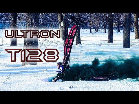 Лучший Электросамокат Ultron T128 | мощный быстрый зимний Электросамокат | тест драйв по снегу