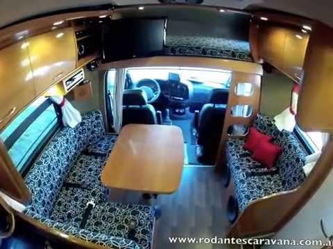 F brica y venta de motorhome caravana iveco daily 35c14 4 - Interior caravana ...