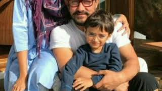 👑Aamir Khan beautiful pics with his wife kiran and  son👑👑👑