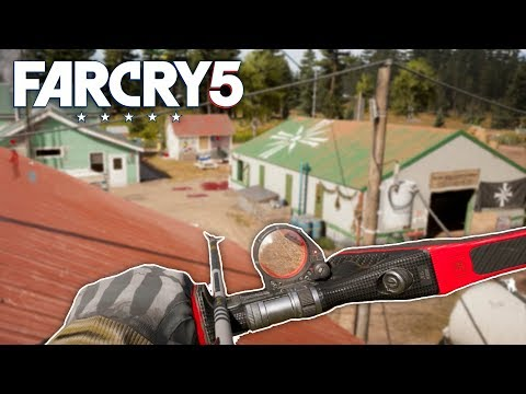Far Cry 5 - BEST BOW IN THE GAME (Far Cry 5 Free Roam) #16