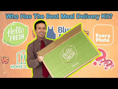 BEST MEAL KIT DELIVERY SERVICE (HONEST REVIEW) Hello Fresh, Blue Apron, Home Chef, EveryPlate