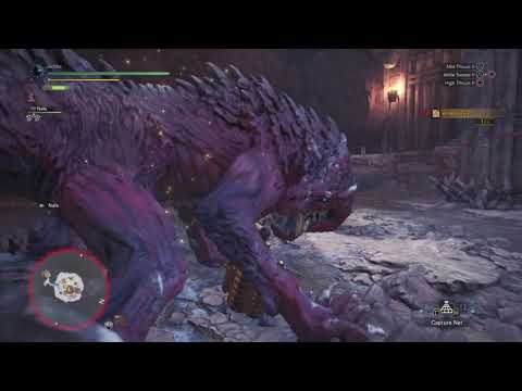 Finishing off Odogoron with a counter thrust.