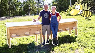 Preparing Horizontal Hives for 20,000 Honey Bees we WON't Regret THIS?!?