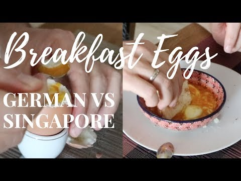 How to make soft boiled eggs singapore style