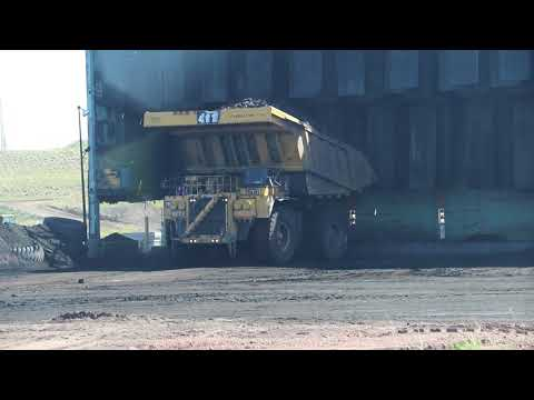 Eagle Butte Mine Haul Truck