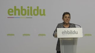 """EH Bildu afirma que Sánchez no tendrá su """"apoyo activo"""" para la investidura"""