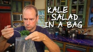 Intro: Kale Salad In A Bag / Ensalda De Col Rizada Con Parmesano: Baja Cocina Con James Carson