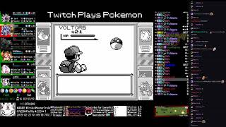 Twitch Plays Pokémon Anniversary Burning Red - Hour 192 to 193